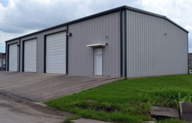 Commercial Metal Shop Building