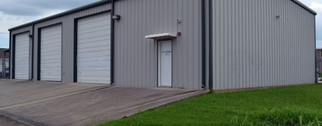 Commercial Metal Shop Building