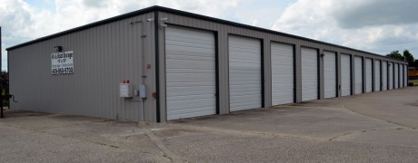 RV and Boat Storage Metal Building