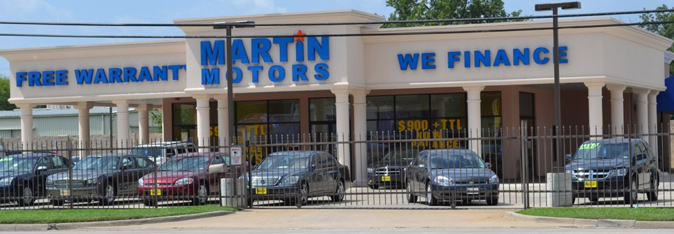 Martin Motor Metal Building