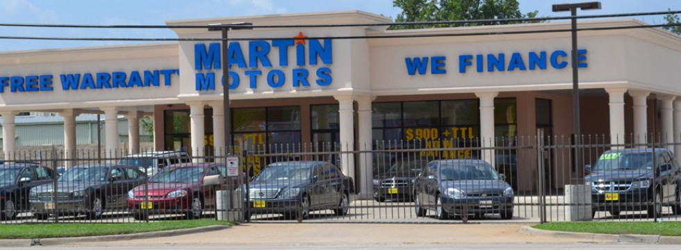 martin motors beaumont texas
