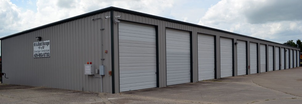 RV and Boat Storage Building